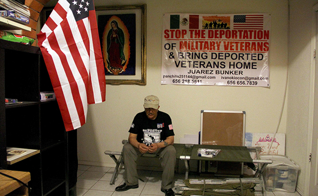 Pelearon por EU y los deportan
