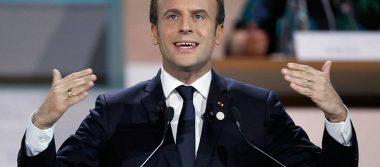 Macron: la Humanidad pierde la batalla contra el cambio climático