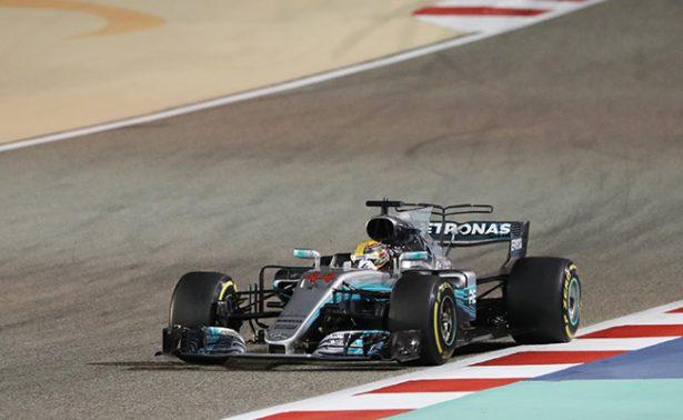 En el circuito de Sakhir, Hamilton el mejor
