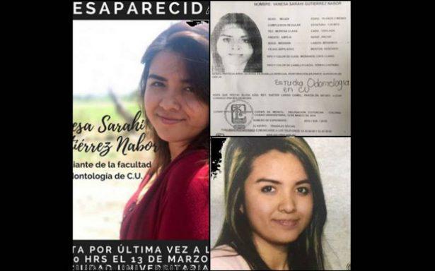 Reportan desaparición de estudiante de la UNAM tras salir de clases en CU