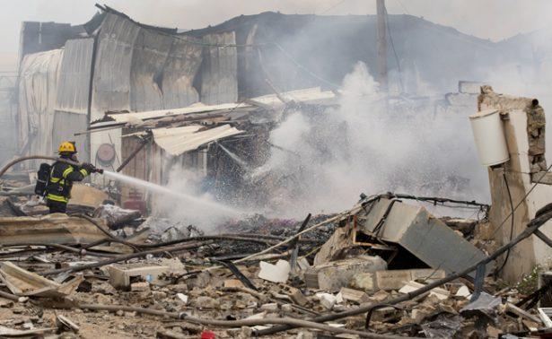 Incendio en almacén de fuegos artificiales deja 2 muertos en Israel