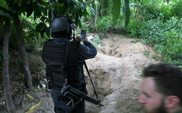 Sube a 14 el número de restos humanos hallados en fosas clandestinas de Guerrero