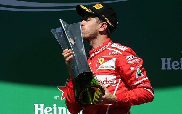 Dominando de principio a fin: Vettel gana el Gran Premio de Brasil