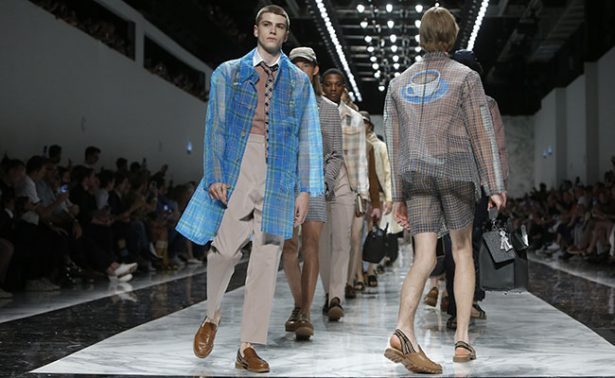 Fendi y la moda relajada en Milán