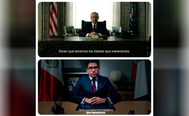 """Exalcalde en Tlaxcala copia discurso de """"House of Cards"""" para promoverse"""