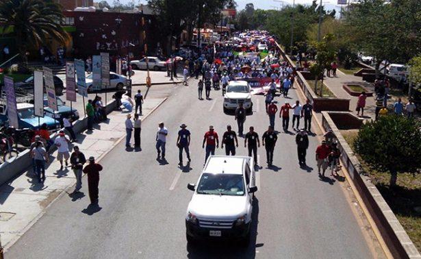 CNTE anuncia dos días de paro y megamarcha para mañana