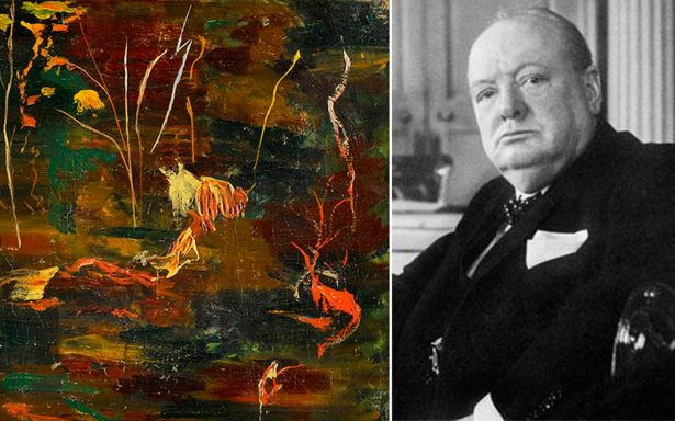 Subastarán el último óleo pintado por Winston Churchill