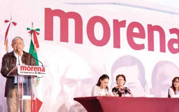 Pide AMLO a Morena no abrir la puerta a lacras políticas