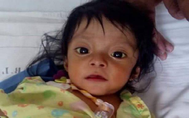 Requiere bebé $1.2 millones para vivir; necesita trasplante de hígado