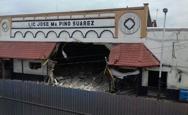 Demuelen el histórico mercado de Villahermosa