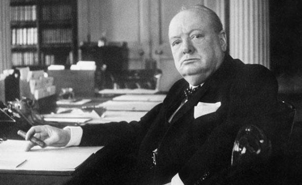 Churchill estudiaba a los extraterrestres