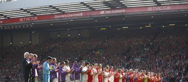 Liverpool y Real Madrid en partido benéfico