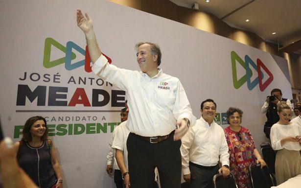 Meade promete ampliar puerto de Veracruz y ratifica no perdonar a criminales