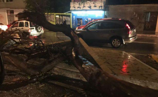 Lluvia torrencial causa inundaciones en Tuxtla Gutiérrez