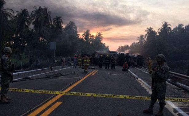 Concluye identificación de víctimas por accidente en autopista Siglo XXI