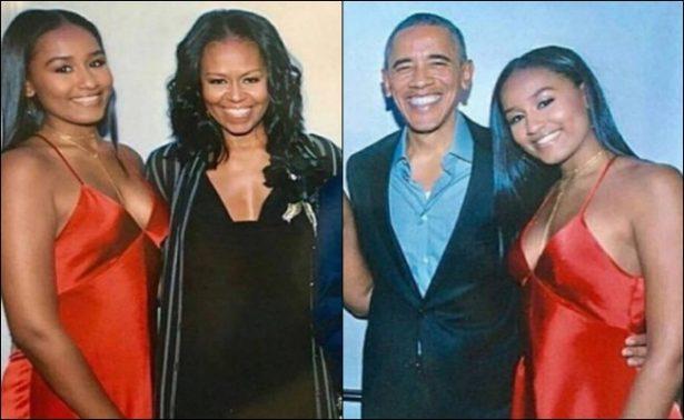 A sus 16 años así luce Sasha Obama, la hija menor del expresidente