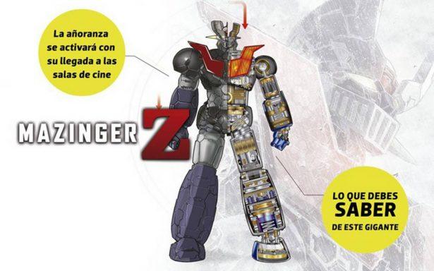 Mazinger Z: Infinity llega hoy a los cines