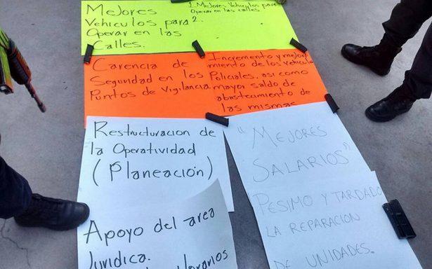 Tras crisis de seguridad, policías de Guanajuato amenazan con renuncias masivas