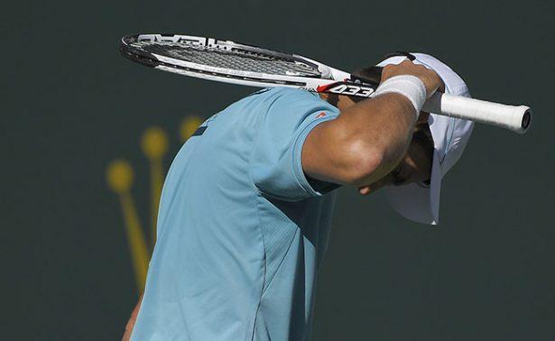 Djokovic volvió a tropezar en los octavos del BNP Paribas Open