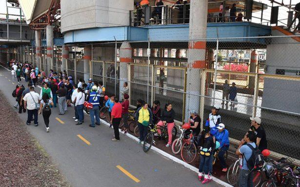 Accede con tu bici y recorre la ciclopista de la Línea B del Metro