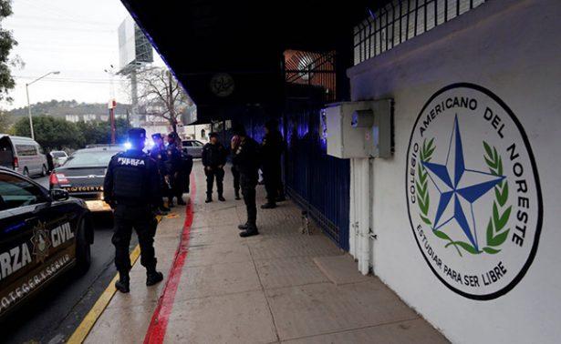 Dan alta a niño herido en Colegio de Monterrey