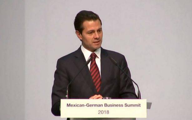 Peña Nieto afirma que proceso electoral se desarrolla con plena normalidad democrática