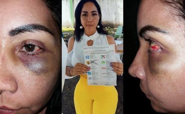 Esposa de funcionario en Veracruz denuncia maltrato