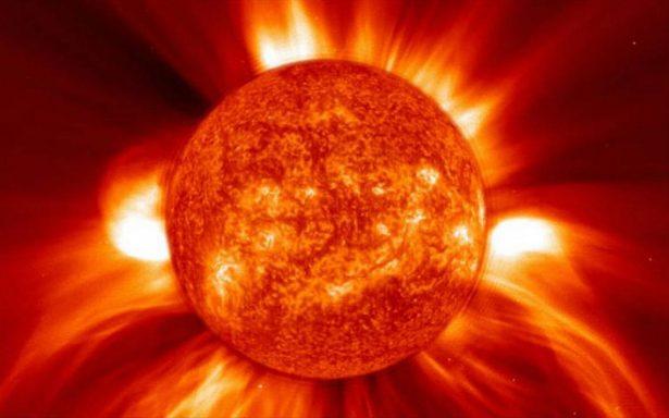 Súbele al volumen, así se escucha el Sol según la NASA