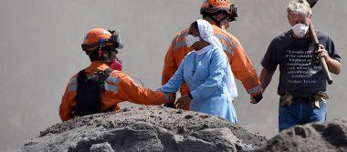 Dan por terminada búsqueda de desaparecidos en zona devastada por Volcán de Fuego