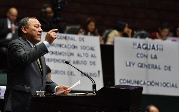 Con 205 votos a favor, diputados aprueban Ley General de Comunicación Social