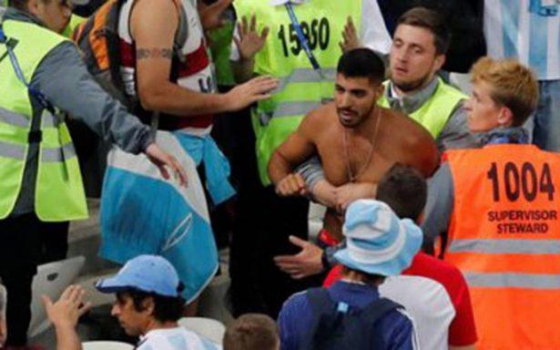 Identifican a hinchas argentinos que golpearon a croatas