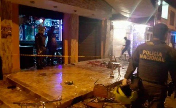 Atentado en Colombia por artefacto explosivo, deja al menos 34 heridos