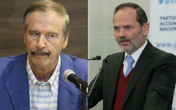 Vicente Fox apoya al PRI de Meade y Gustavo Madero lo insulta