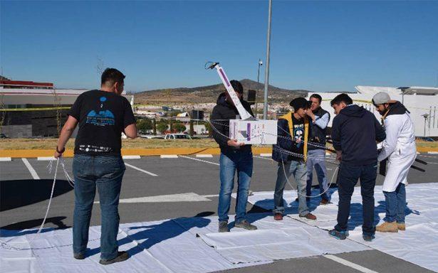 Universitarios logran lanzar nanosatélite 100% mexicano