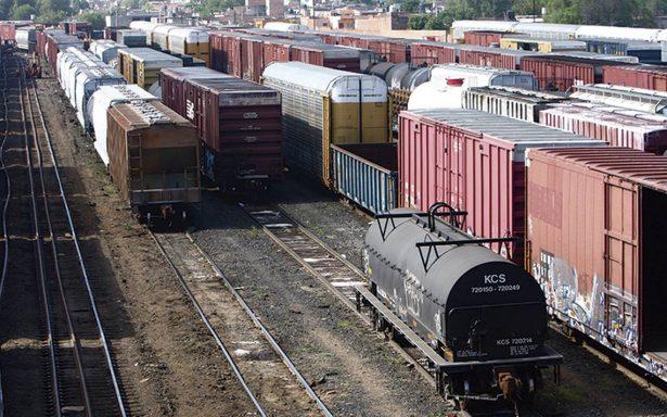 Trenes mueven al año 122 millones de toneladas de carga
