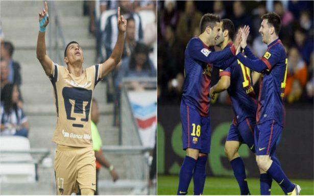 ¿Qué? Barcelona podría jugar en México contra los Pumas de la UNAM
