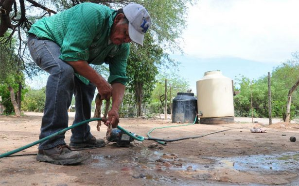 Sobrevive poblado del Molino de Camou sin agua potable