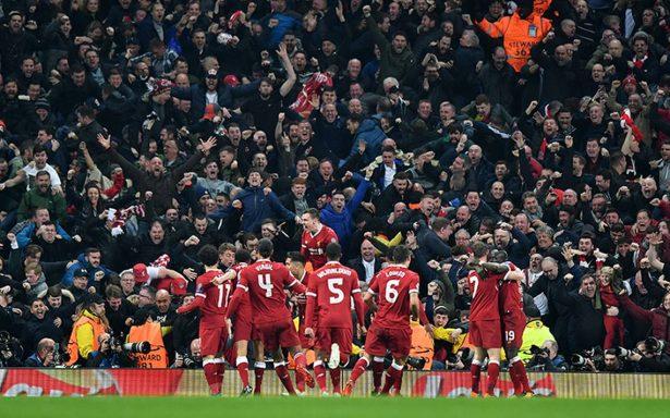 Liverpool sofoca la revuelta del City y regresa a semis de Champions