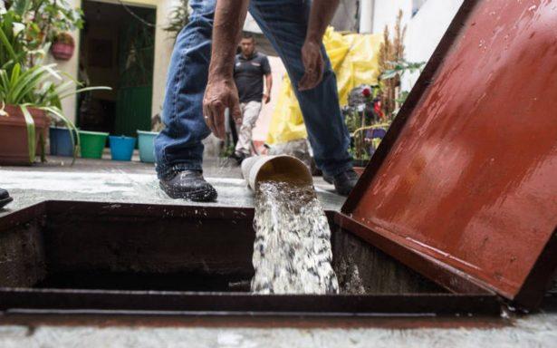 Dejan sin agua a 17 colonias de Nezahualcóyotl