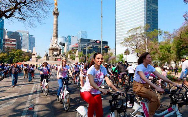 Rodada con causa: alcaldes del mundo participan en la Cumbre Women4Climate