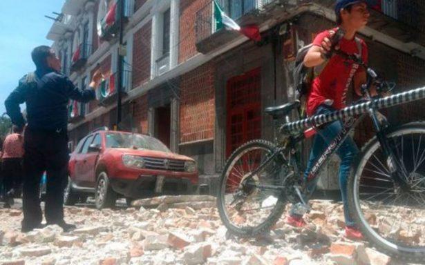 Rehabilitan tramos afectados por sismo y lluvia en Puebla