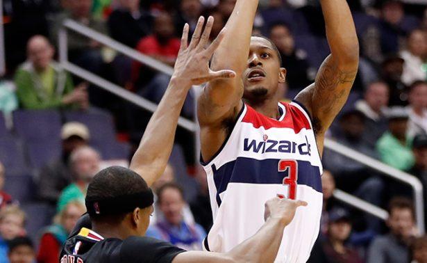 Wizards de Washington derrotaron 112-107 a los Chicago Bulls.