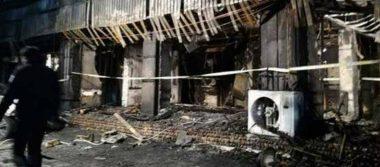 Sujeto ebrio incendia un karaoke en China, hay 18 muertos