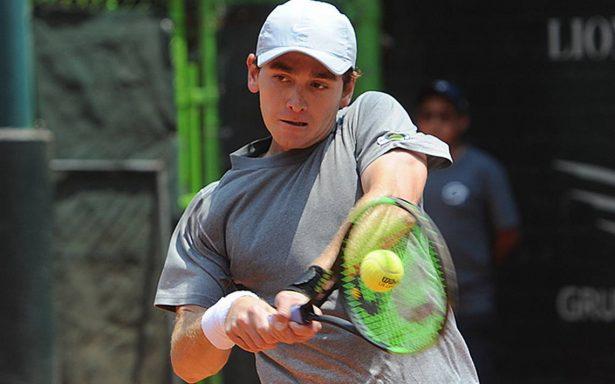 Luis Patiño se despidió en primera ronda de la primera edición del CDMX Open.