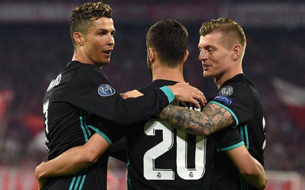 """Real Madrid vence al Bayern y toma ventaja en """"semis"""" de la Champions League"""