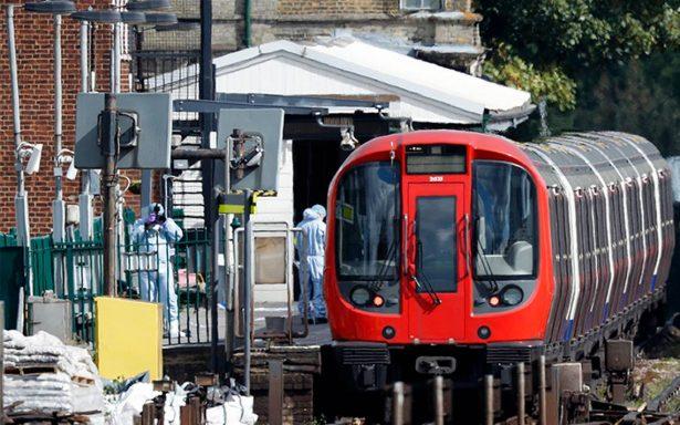 Atentado por explosión en metro de Londres deja 29 heridos