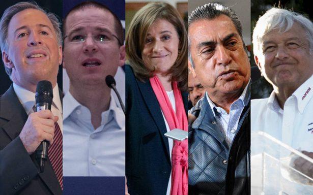 Así viven los candidatos presidenciales las horas previas al debate