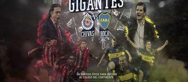 """En febrero, el """"Duelo de Gigantes"""" entre Chivas y Boca Juniors"""