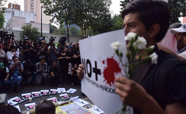 Periodistas exigen que asesinatos de compañeros no queden impunes