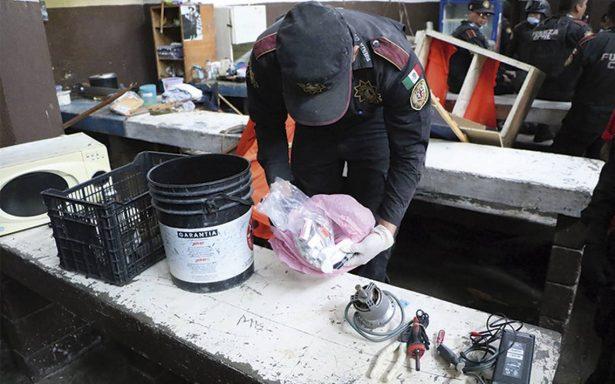 En 2017 detuvieron a 18 personas por ingresar objetos prohibidos a penales mexiquenses